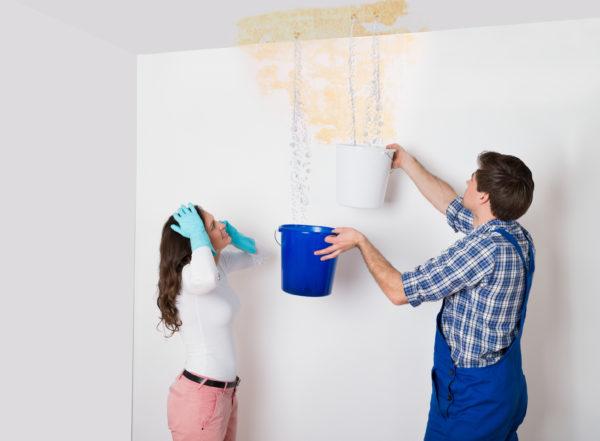 Dégâts des eaux : problème d'humidité à traiter