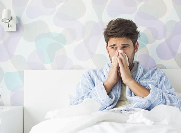 Présence d'humidité dans la maison et la chambre