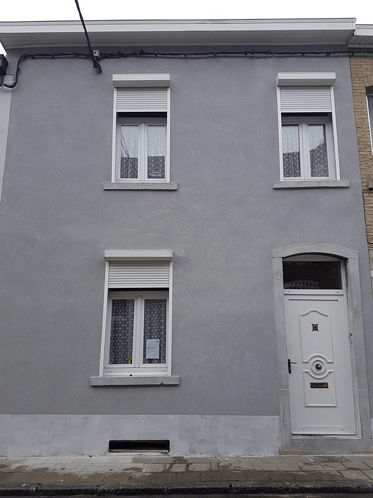 Chambre humide : traitement par hydrofuge de la façade