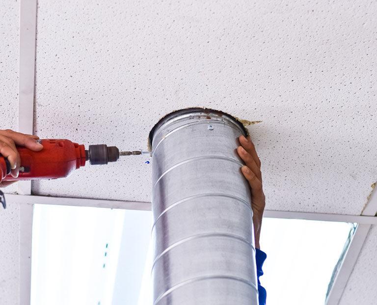 Chambre humide : traitement de l'humidité par ventilation