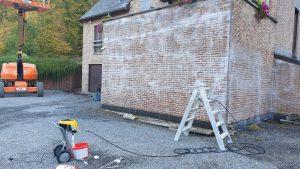 Protection d'une façade contre l'humidité