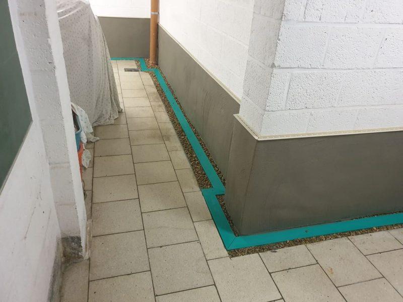 Murs enterrés
